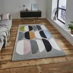 Koberec Think Rugs Inalu x e Composition, 120x170 cm
