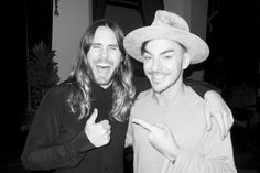 Jared and Shannon at The Chateau Marmont, march 2014