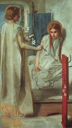 Ecce Ancilla Domini! (The Annunciation), 1849-50, oil, Tate Gallery in London.