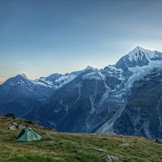 The perfect campsite shot by @el_s