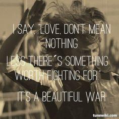 Beautiful War ~ Kings of Leon <3
