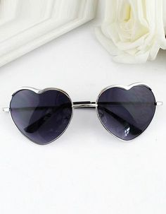 84b62c11f1 New 2015 Summer Fashion Gold Silver Alloy Heart Shape Acetate Frame Wrap  Sunglasses