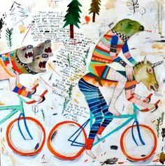 "Saatchi Art Artist Kelly Puissegur; Painting, ""(SOLD) Dear Harvey"" #art"