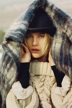 Dree Hemingway by Alasdair McLellan in UK Vogue October 2013