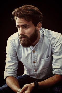 A nice beard is always an added bonus