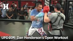 UFC 204: Dan Henderson's (Possibly) Last Open Workout For Fans + Media (...