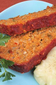 Lentil Loaf #vegetarian- must try!