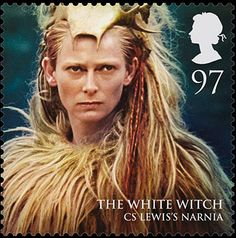 Royal Mail's new stamps from magical realms: the White Witch, 97p.