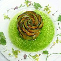 "Revisit: By @chef_wuttisak ""- Ratatouille l Pesto -"" #foodphotography #f52grams #food #foodporn #gourmet #instagramfood #chef #foodart #lovefood #artofplating #instafood #yummy #foodpic #photooftheday #instagourmet #dinner #foodvsco #dessert #delicious #taste #foodartchefs #eat #gastronomy #love #foodie #cook #cooking #foodgasm #culinaryart #vegetarian"