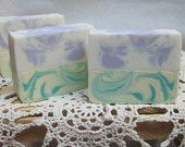 Lavender and Lemongrass hand made goat milk soap Goat Milk Soap, Lemon Grass, Lavender, My Etsy Shop, Unique Jewelry, Handmade Gifts, Vintage, Kid Craft Gifts, Handcrafted Gifts