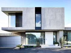 Epic Examples of Minimal Architecture Concrete Architecture, Minimal Architecture, Contemporary Architecture, Architecture Design, Modern Villa Design, Minimal House Design, Modern House Facades, Concrete Houses, Concrete Facade