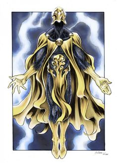 Dr. Fate has a cool name and a cool costume.