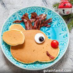 Crepes y Tortitas Navideñas para el desayuno. #Desayuno