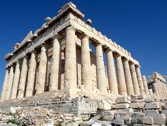 Ils sont ruines grecques célèbres