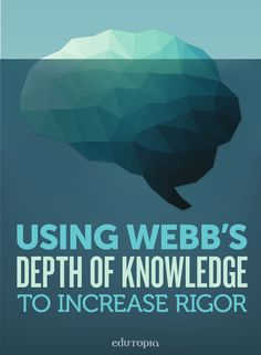 Norman Webb's Depth of Knowledge Levels is a system that categorizes tasks according to the complexity of thinking required to successfully complete them. Instructional Coaching, Instructional Strategies, Teaching Strategies, Teaching Tips, Instructional Design, Teaching Biology, Teaching History, Systems Thinking, Thinking Skills