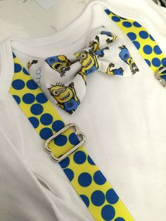 Minion shirt / minions birthday shirt / by CutieBowBoutique