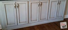How To Glaze Cabinets