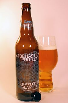 Beer Review: Stone Brewing Company Stochasticity Project Grapefruit Slam IPA