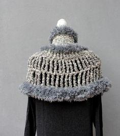 Outlander Capelet Fluffy Cowl Letitia Mackenzie Outlander | Etsy