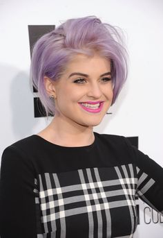 kelly-osbourne-hair Loving the soft frosty lilac that Kelly Osborne has got going on!