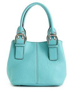 Cute aqua bag from Macy's