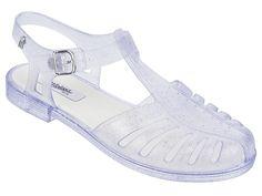 MELISSA ARANHA 1979 VI SILVER GLITTER - Melissa #melissa #aranha #sandals
