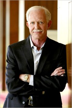 Sully Sullenberger, landing on the Hudson River and last off the plane.