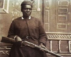 """Mary Fields, known as """"Stage Coach Mary"""" was the first African-American mail carrier. However, she was known as being one of the """"baddest"""" women of her time. She was one woman that didn't take mess from no one. Fields often dressed in comfortable clothes of men. She wore a wool cap, boots, and a rev"""