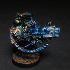 Dark Vengeance Salamanders Space Marine Plasma Cannon   Flickr - Photo Sharing!