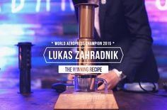AeroPress Lukas Zahradnik AeroPress Whorldchampion 2015