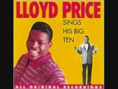 """Personality"" Lloyd Price  1959....  walk, personality, talk, personality, smile, personality, charm, personality, love, etc."