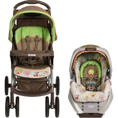 Graco - LiteRider Travel System, Winnie the Pooh Peek A Pooh Friends