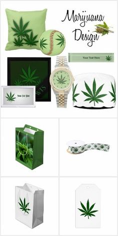 Marijuana Gift Wrap