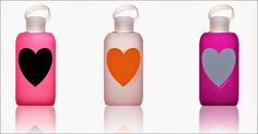 bkr glass + silicone water bottle