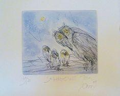 Mother Owl (2011) by John Olsen
