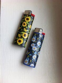 Sunflower Custom Lighter