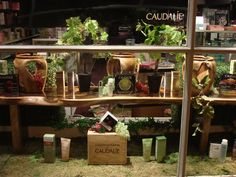 Window display for Caudalie, Staging Places, Southampton,NY