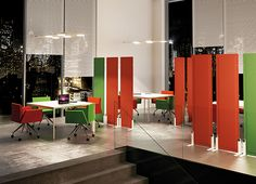 durban participations panneaux acoustiques Office Screens, Office Dividers, Standing Work Station, Sound Free, Sound Room, Screen Design, Booth Design, Contemporary Style, Acoustic