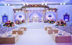 Stunning set up at the beautiful Grand in Brighton! #weddings #wedinstyle #mandaps #decorations #weddingideas #weddinginspiration