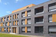Röben Klinker, Bricks | Hermes-Verwaltungsgebäude in Löhne | Klinker: SYDNEY | Planung: h1 plan GmbH, Bünde