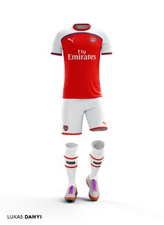 I made more football kits of some famous football clubs. Arsenal Football Club, Football Kits, Messi, Bra Video, Casual Chic Style, Sporty Style, Football Design, Sport Body, Video Games For Kids