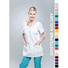 Odzież medyczna dla kobiet. | Bluza damska kolorowa 1802 - z pewnością będzie to strzał w 10-tkę dla pielęgniarek i lekarzy. | Sklep internetowy Dersa |