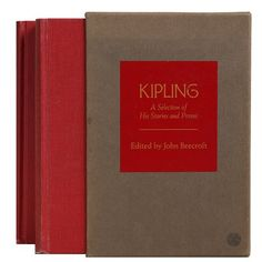 Booth & Williams Kipling a Selection of His Stories and Poems by John Beecroft 2 Piece Authentic Decorative Book Set Marquee Letters, Metal Letters, Hourglass Sand Timer, Story Poems, Ceramic Elephant, Elephant Figurines, If Rudyard Kipling, Block Lettering, Modern Materials