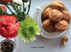 Hodogwaja (Korean Walnut Shaped Cakes)
