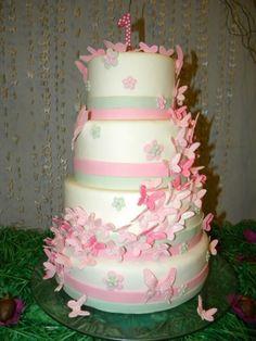 Bolo Borboleta #cake #bolo #boloborboleta #borboletas
