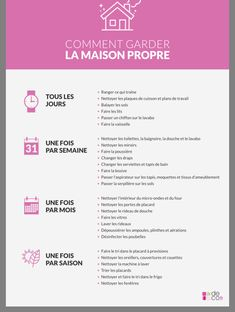 Comment garder sa maison propre – home acssesories Organization Bullet Journal, Diy Organisation, Household Organization, Organising, Limpieza Natural, Flylady, Better Life, Clean House, Good To Know