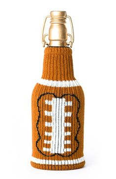 Keep those drinks cool for Football season. Freakers 'Laces Out' Bottle Insulator | Nordstrom