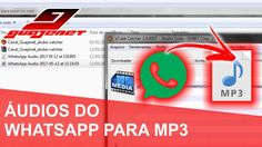 Como converter áudio do Whatsapp para tocar no aparelho som - Canal Guaj...