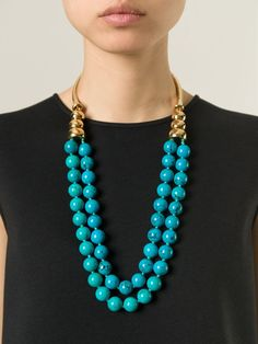Aurelie Bidermann 'lakotas' Necklace - Uzerai - Farfetch.com
