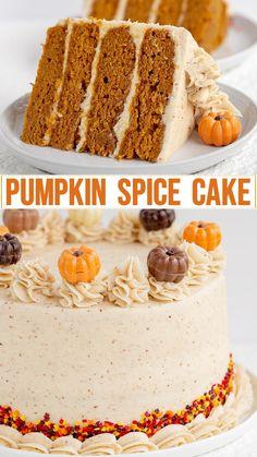 Pumpkin Cake Pops, Pumpkin Truffles, Pumpkin Spice Cake, Pumpkin Dessert, Pumpkin Cakes, Spice Cake Recipes, Pumpkin Cake Recipes, Baking Recipes, Baking Ideas